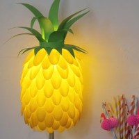 Pineapple Lampshade - Craft By Photo