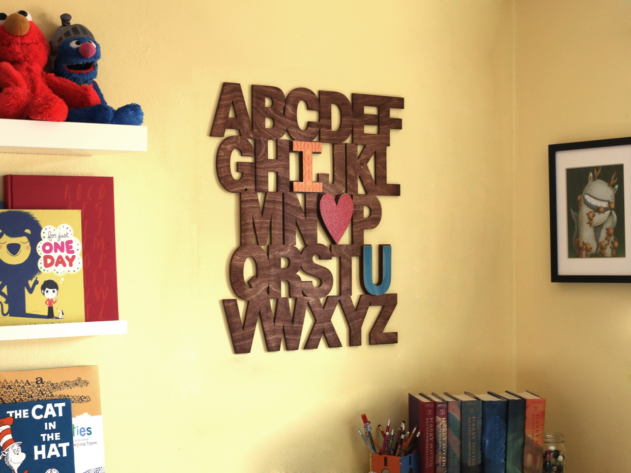 Kids Room Wall Letters - Usefulresults