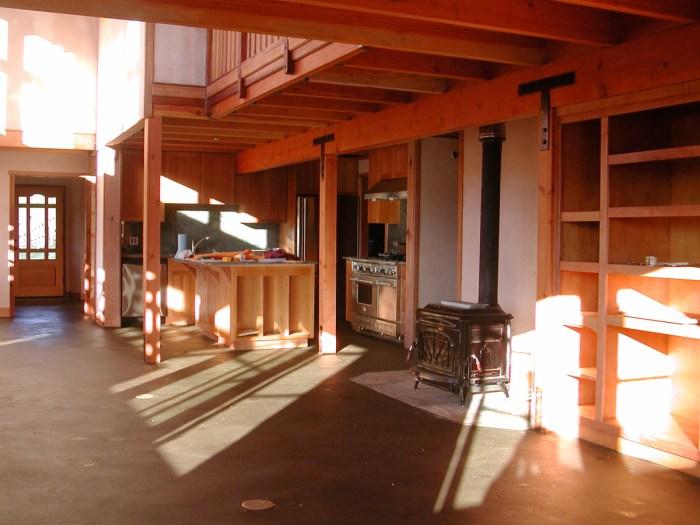 Earthen Floor and Kitchen
