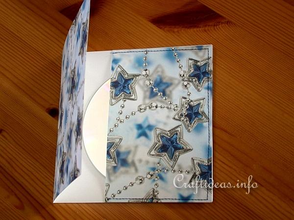 Craft a CD Cover for Christmas CDs
