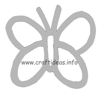 Free Craft Patterns and Templates - Butterfly Pattern - butterfly template
