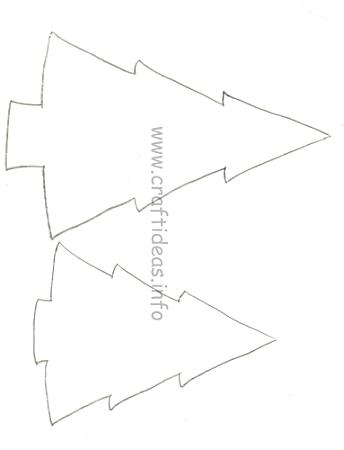 Free Craft Patterns for Wood Crafts - Wooden Christmas Trees - free christmas tree templates