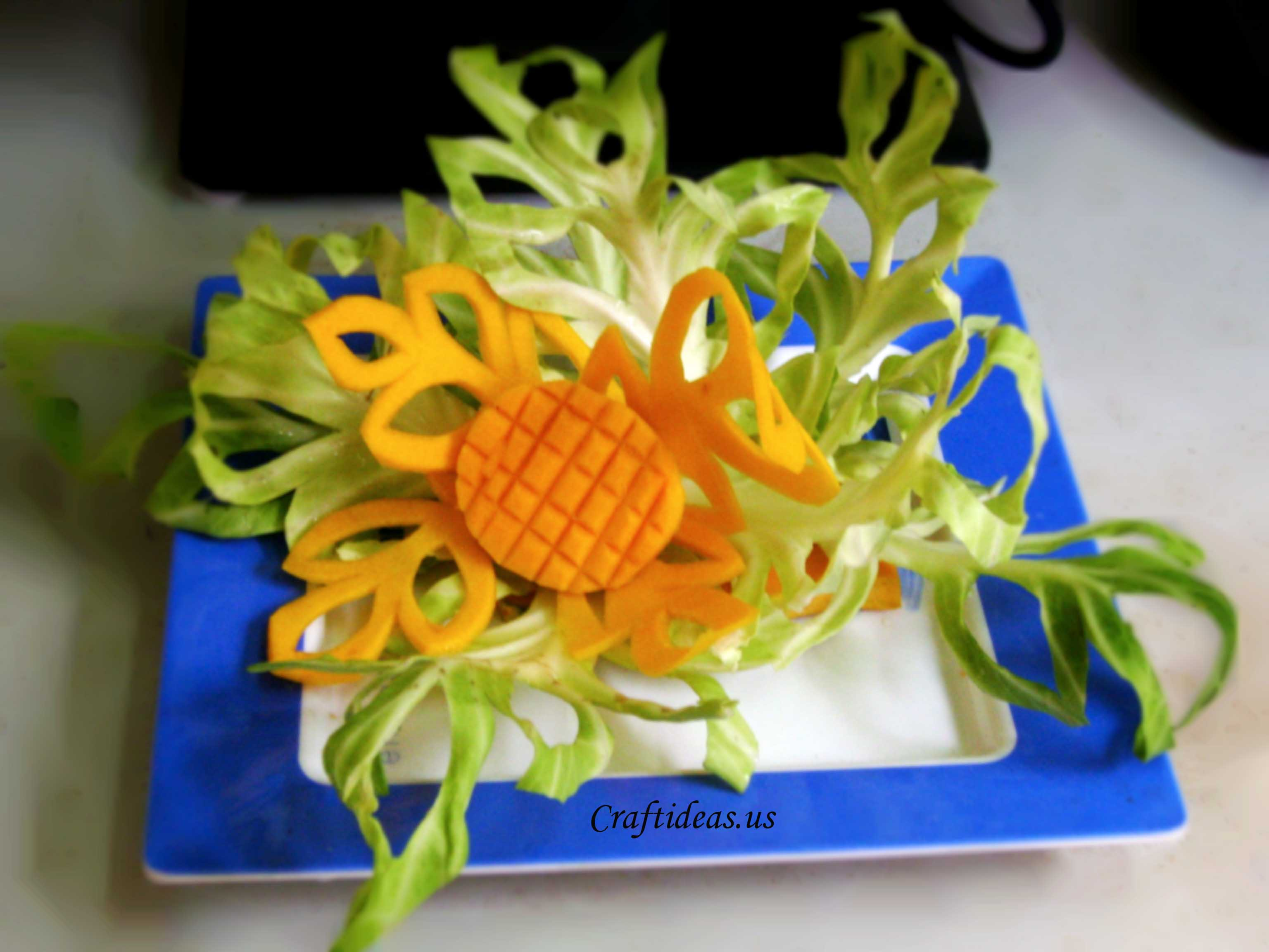 Orange Fall Wallpaper Carving Fruits Craft Ideas