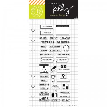 Hero Arts Clearly Kelly Appointment Planner 25\