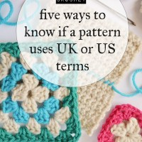How to tell if a crochet pattern uses UK or US terms