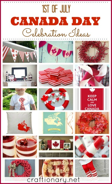 Canada Day Crafts (1st of July Ideas) - Craftionary