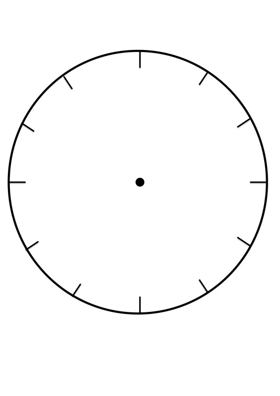 Clock Faces for use in learning to tell the time - CRAFT \u0027N\u0027 HOME