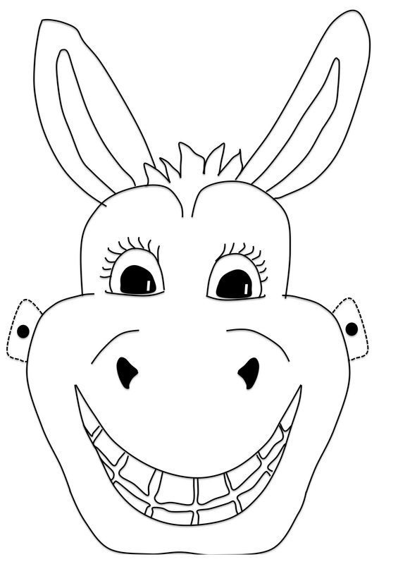 Donkey Mask