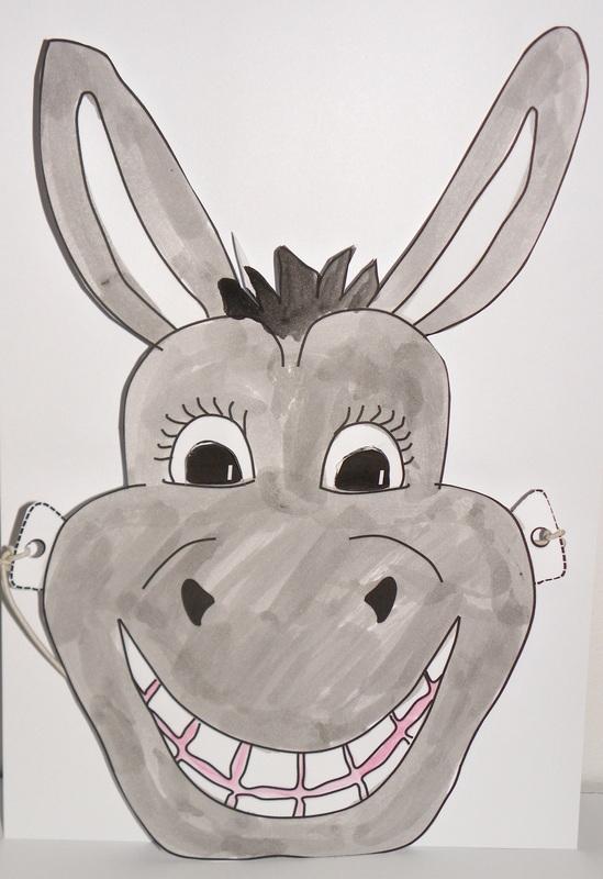Donkey Mask - CRAFT \u0027N\u0027 HOME