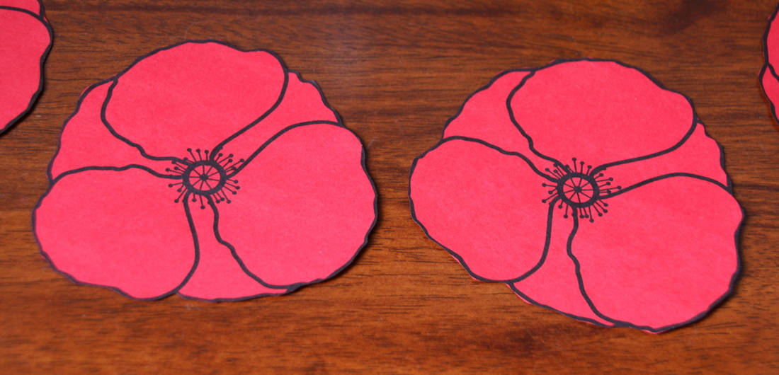 Cut out Poppies