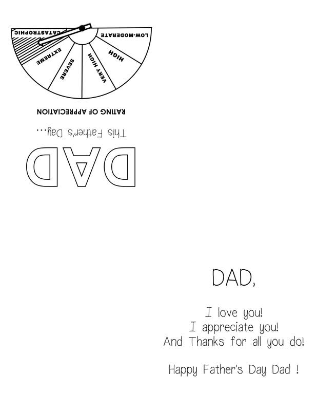 Father\u0027s Day Card \