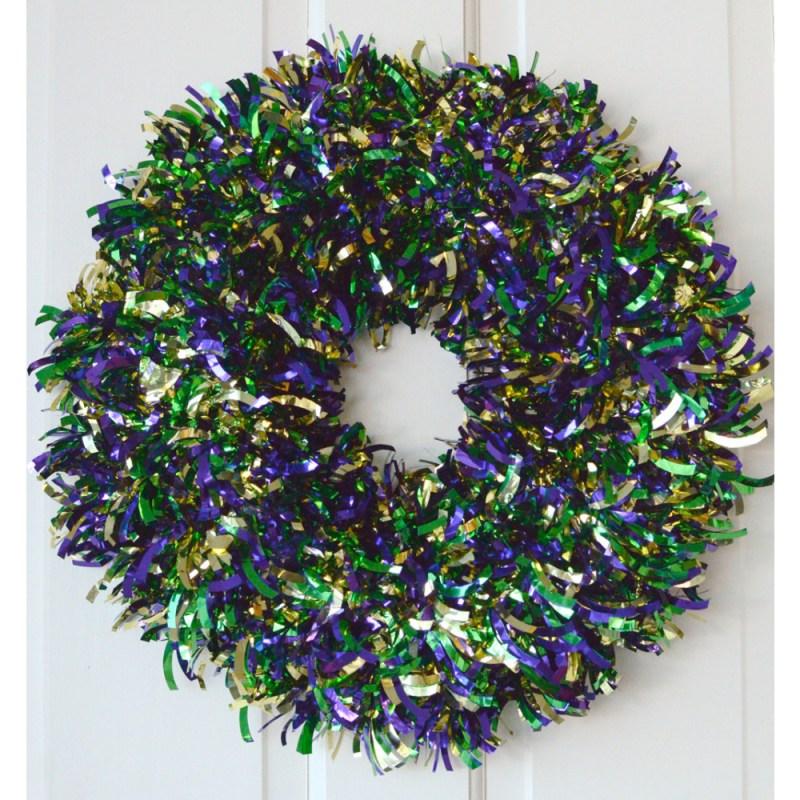 Large Of Mardi Gras Wreath