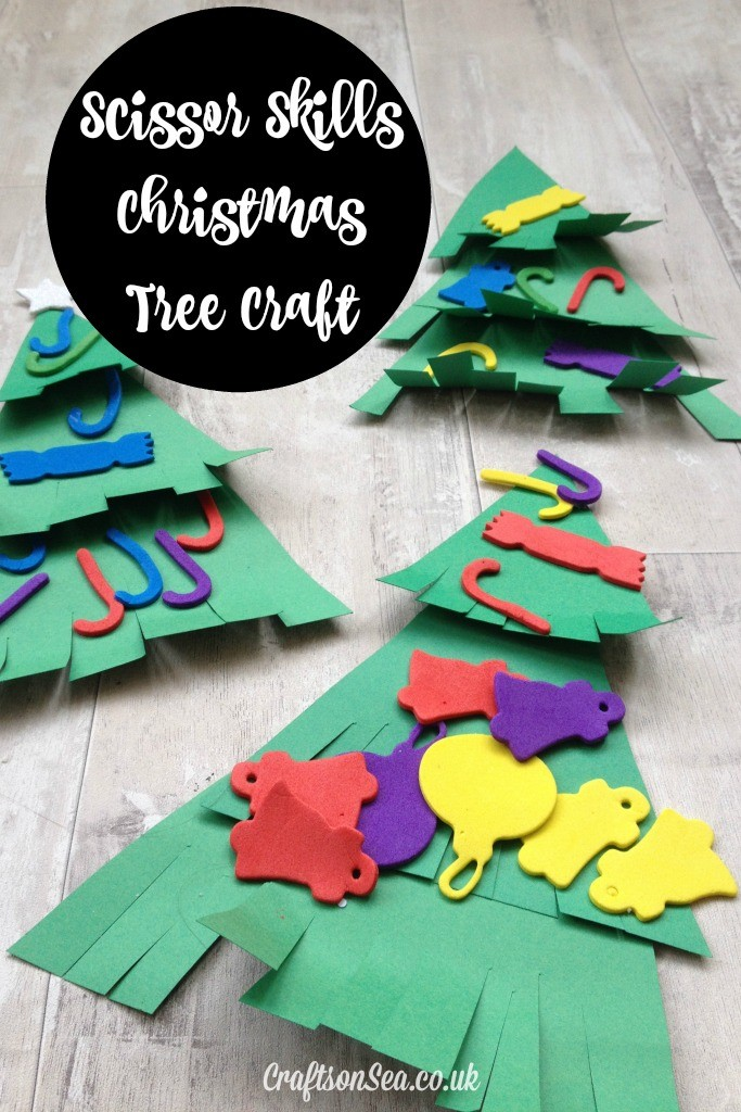 christmas tree crafts for preschoolers
