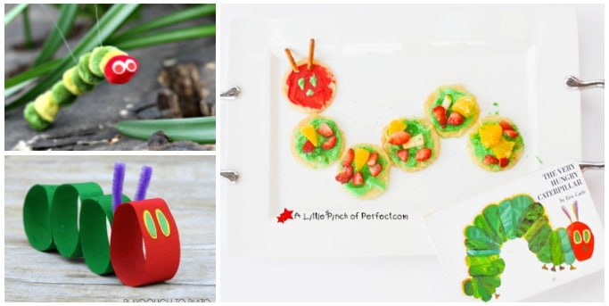 15 The Very Hungry Caterpillar Activities - Crafts on Sea