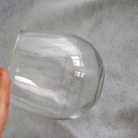 Etched Portion-Control Wine Glass