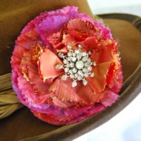 Recycle Craft: Fabric Corsage