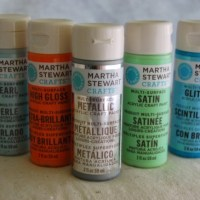 Craft Product Review: Overview of Martha Stewart Paints by Plaid