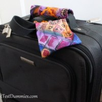 How-To: Luggage Accessories Using Recycled Neckties