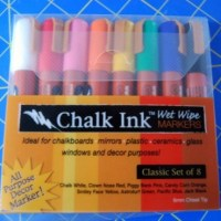 "Craft Product Review: ""Wet Wipe"" Chalk Markers"