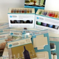 Craft Product Review: Martha Stewart Glass Paints by Plaid Enterprises