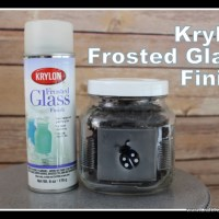 Krylon Frosted Glass Finish Spray Paint Review