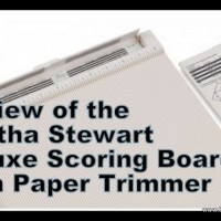 Martha Stewart Crafts Deluxe Scoring Board and Paper Trimmer