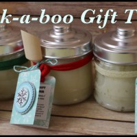 Peek A Boo Gift Tags