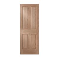 Pre Cut Interior Doors. 4 Panel - Raised Panel - Maple ...