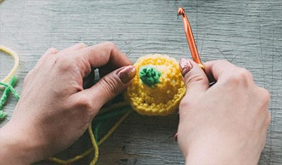 Learn Single Crochet Welcome To The Craft Yarn Council