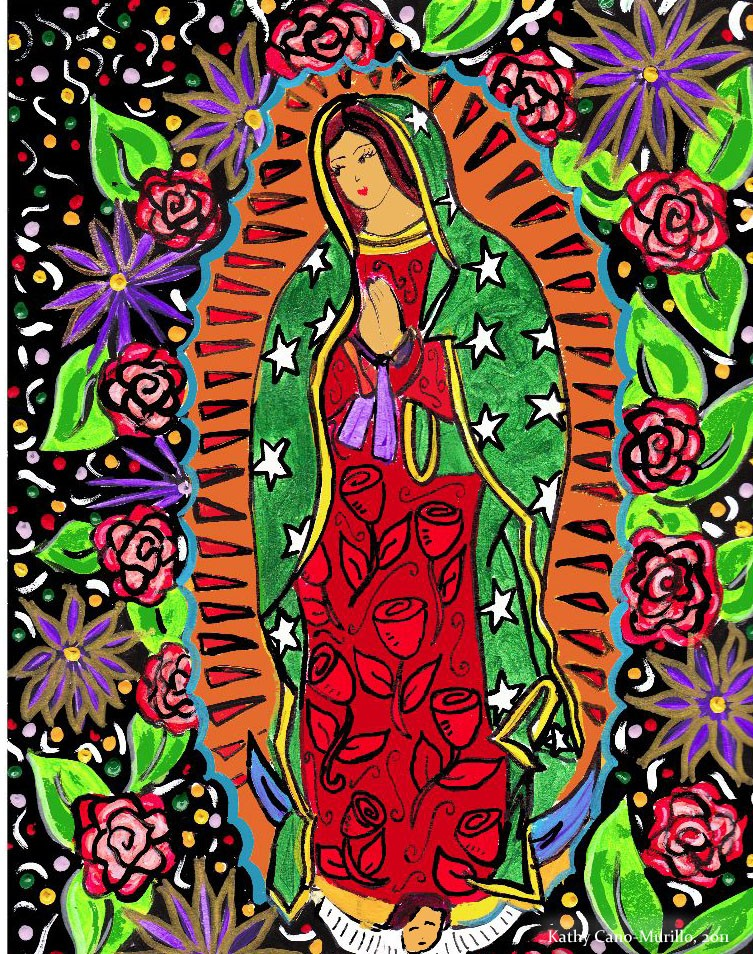 Our lady of guadalupe illustrated love times three for Our lady of guadalupe arts and crafts