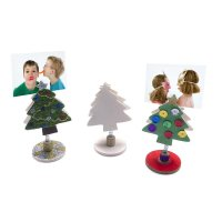 Wooden Christmas Tree Picture Holder - Fun With Wood And ...