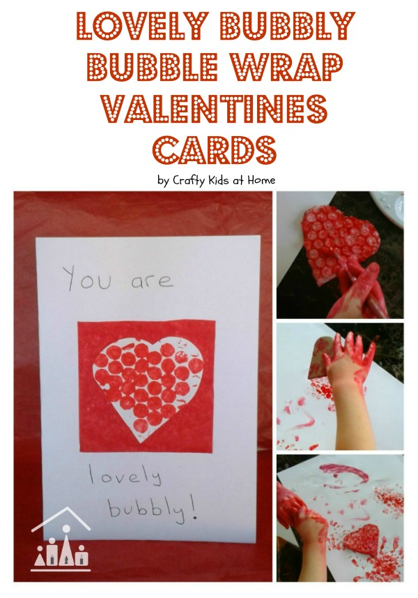 Lovely Bubbly Valentine\u0027s Day Cards for Toddlers