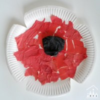 Paper Plate Poppy Crafts for Remembrance Sunday - Crafty ...