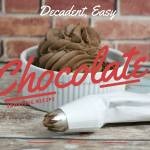 Decadent, Easy Chocolate Frosting Recipe