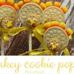 Turkey Cookie Pops Food Craft