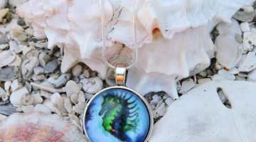 Seahorse Necklace Giveaway
