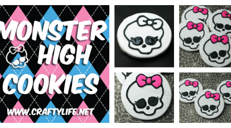 Monster High Cookies Recipe