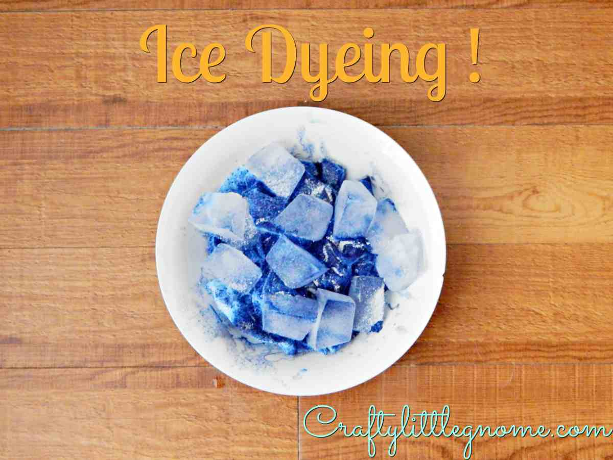 Ice Dye!! How to Tie Dye with Ice
