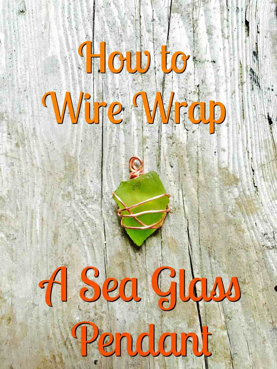 How to Make a Wire Wrap Pendant
