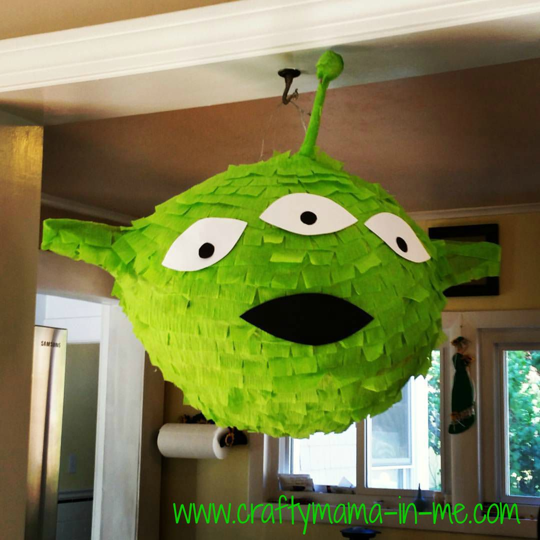 DIY: You Story Alien Piñata
