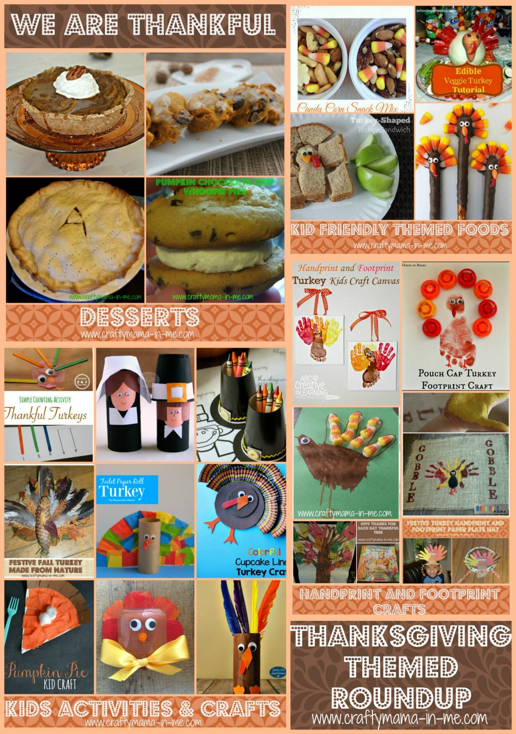 Thanksgiving Themed Pictures Thanksgiving Collage