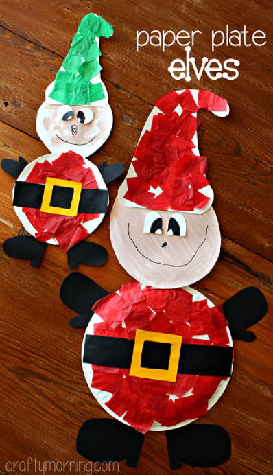 Elf crafts for kids 15 fun ideas letters from santa for Elf crafts for kids