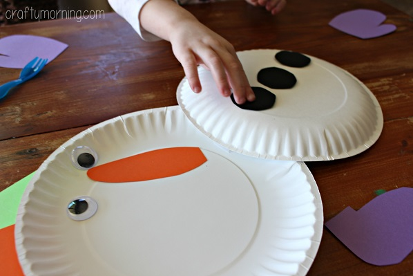Cute Paper Plate Snowman Craft For Kids Crafty Morning & Amazing Cute Paper Plate Snowman Craft For Kids Crafty Morning ...