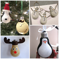 Christmas Decoration Light Bulbs | www.indiepedia.org