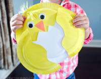 Paper Plate Chick Craft for Kids - Crafty Morning