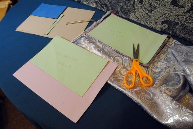 diy journal bookbinding cutting