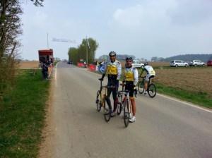 Tim und Udo vor dem Rennen in Aichach