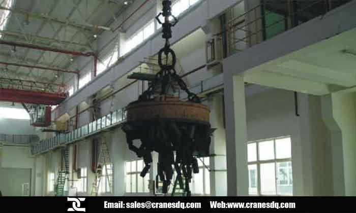 Electromagnetic overhead crane- Overhead crane of DQCRANES