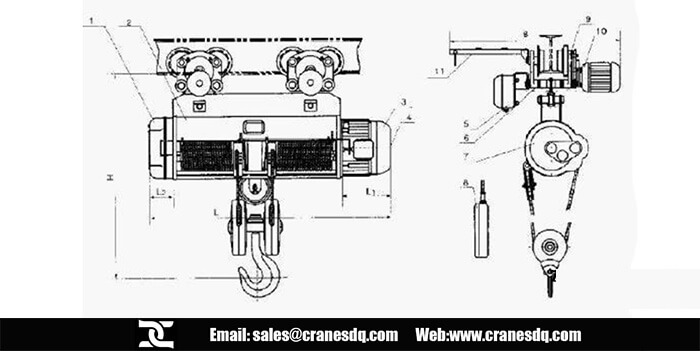CD1 TYPE ELECTRIC HOIST WIRING DIAGRAM - Auto Electrical Wiring Diagram