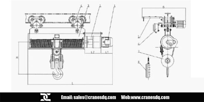 Cable Hoist Wiring Diagram - Wiring Diagrams Schema